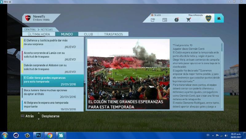 Imágenes de prensa/noticias (Primera división de ARGENTINA) 810