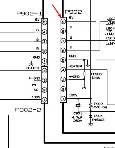 [Resolvido]Tv lg mod. rp 20cc25 liga mas não tem imagem Tensyd11