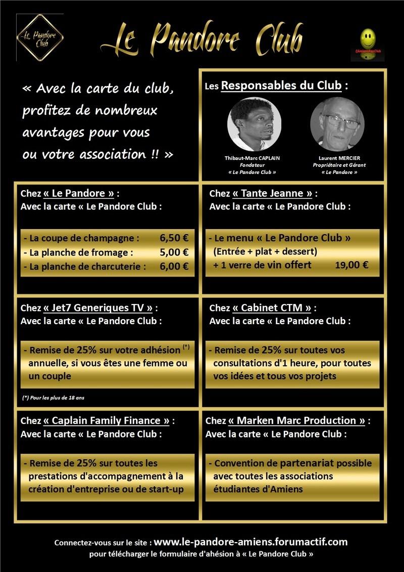 Chez : LE PANDORE / #BonPlan @LePandoreAmiens / #LePandoreClub #Avantage Le_pan53