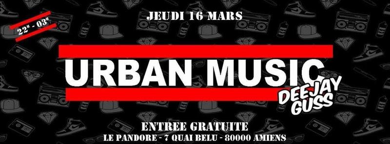 #UrbanMusic @LePandoreAmiens Le_pan56