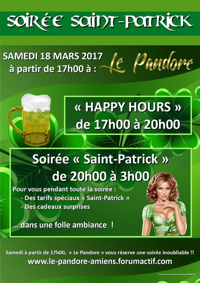 SAINT PATRICK DAY @LePandoreAmiens (#SaintPatrickDay #SaintPatrick) (#bière) Le_pan77