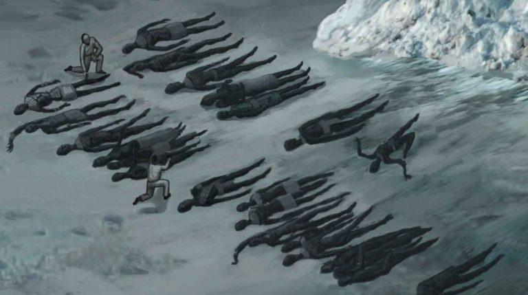Майкл  Салла, Кори Гуд - Антарктический шельф, дестабилизированный артефактами древних пришельцев и новым оружием, нагревается.  13_gon10