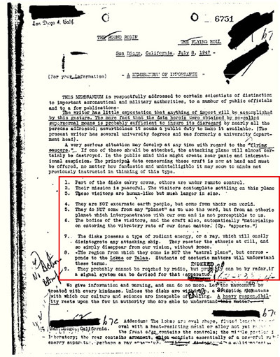 Рассекречено: ФБР раскрывает документы об инопланетянах. Blogor10