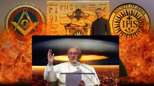 Папа знает, что произойдёт в мае: загадочные действия и слова Папы Римского в Египте.  Pizap_10