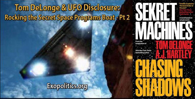 Майкл Салла обновление - официальные представители ВВС США расследуют заявления о космической программе секретного флота - 19 марта 2017 года. Sekret10