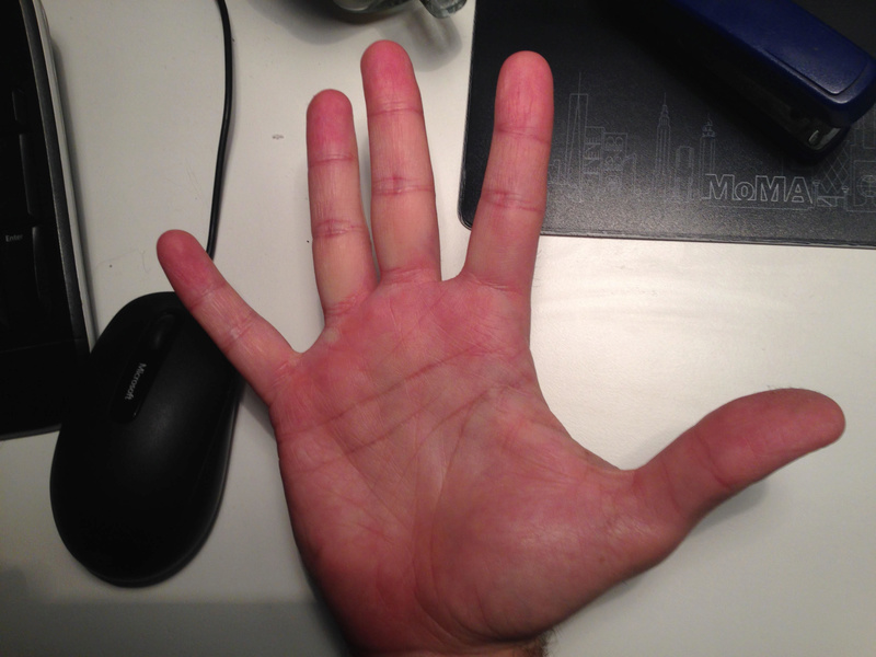 Career Crossroad - Read my hands A14