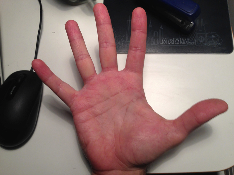Career Crossroad - Read my hands B14