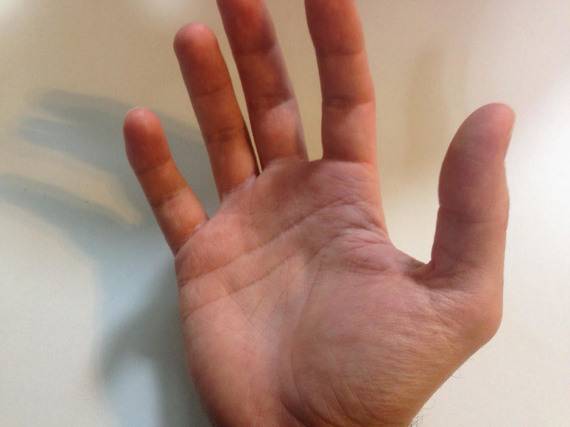 Career Crossroad - Read my hands R_hand14