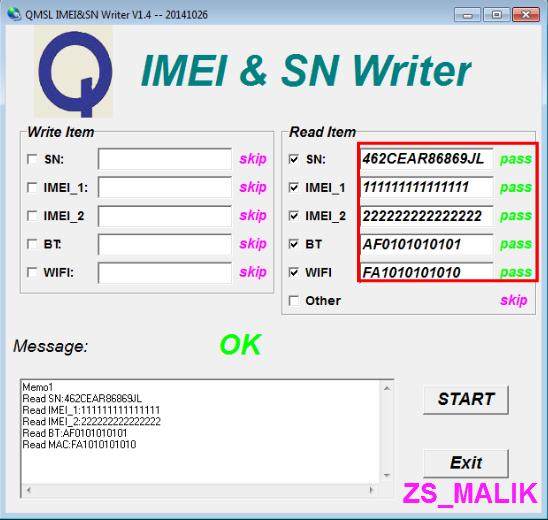 Guía de reparación de IMEI Micromax Qualcomm Servitecno Screen11