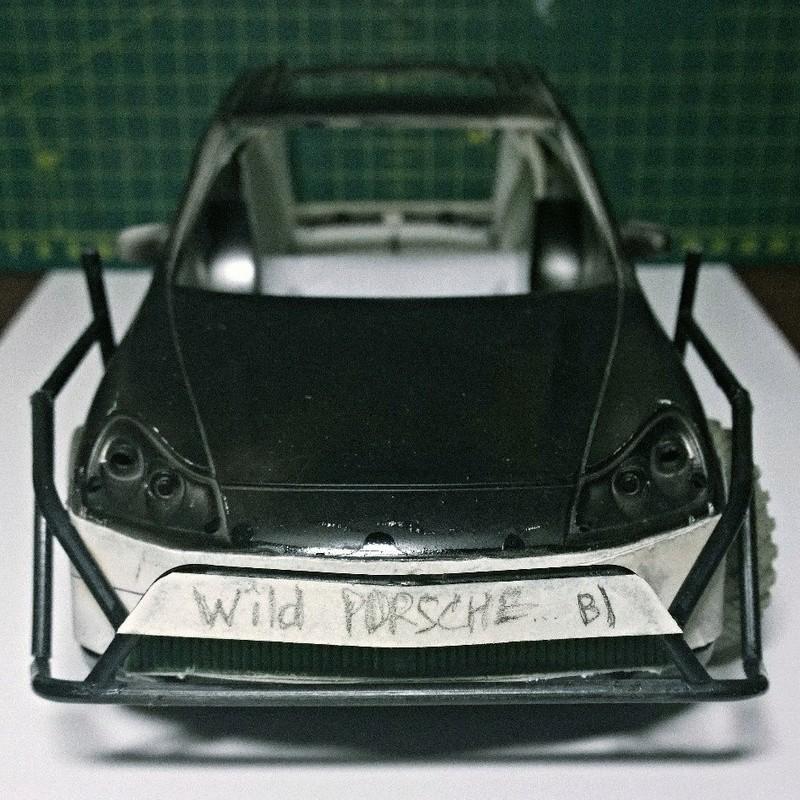 Porsche Cayenne (конверсия) (1/18) Wmgsd110