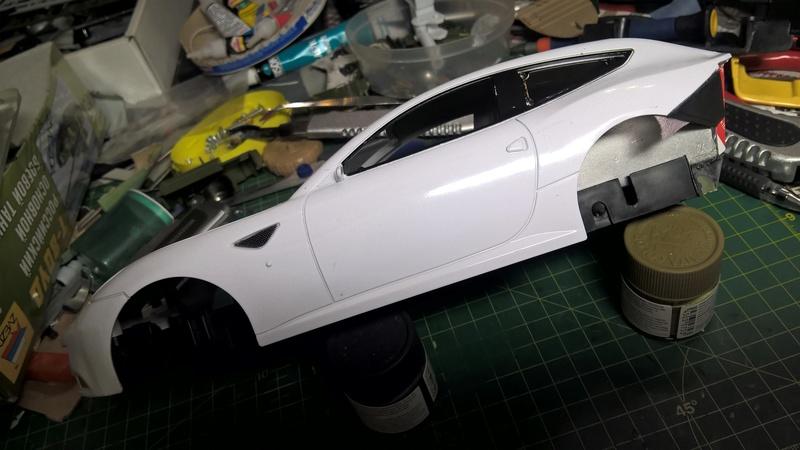 Ferrari FF (скрэтчбилд) 1/18 Wp_20121