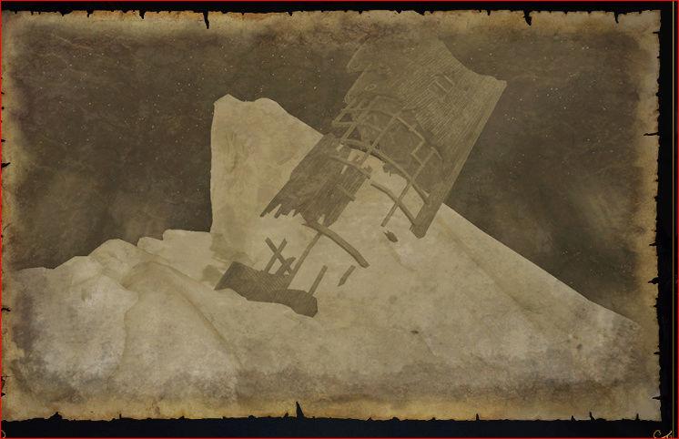 Карты кладов в Море текучего льда Yzaa10