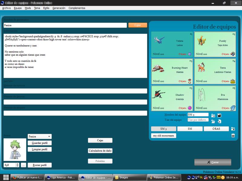 2.-Pokémon Online Guía - Dentro del simulador Menú Principal/Teambuilder) Pokemo12