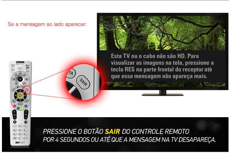 """Como solucionar: """"Esta TV ou cabo não são HD"""" 15213510"""