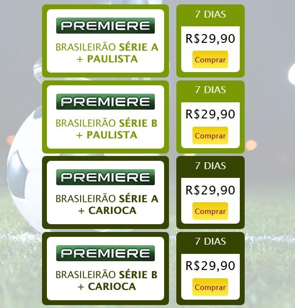 Premiere Futebol Clube disponível para clientes SKY Pré-Pago Screen13