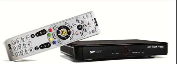 Atualizações de Software do SKY HDTV Slim Sky-hd10