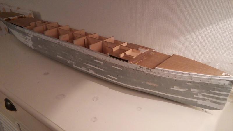 TITANIC 1/250 Amati/Hachette 611