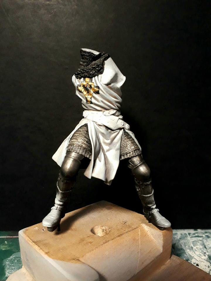 Pegaso Models - Chevalier teutonique 90 mm 16864311