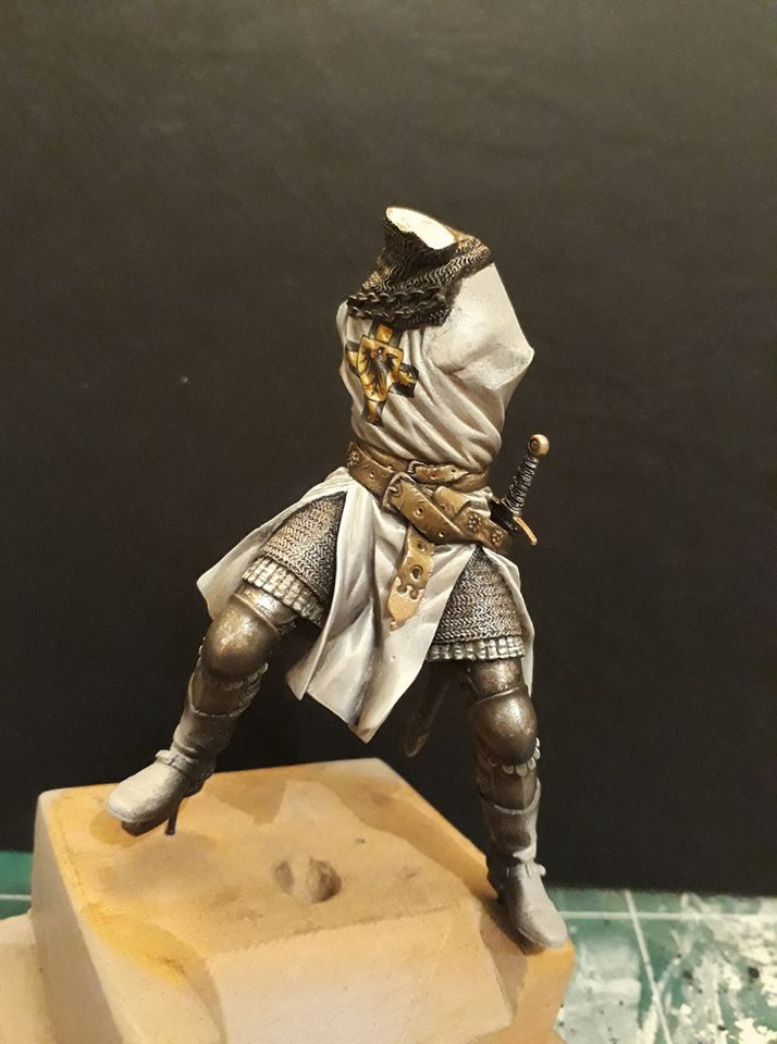 Pegaso Models - Chevalier teutonique 90 mm 16864511