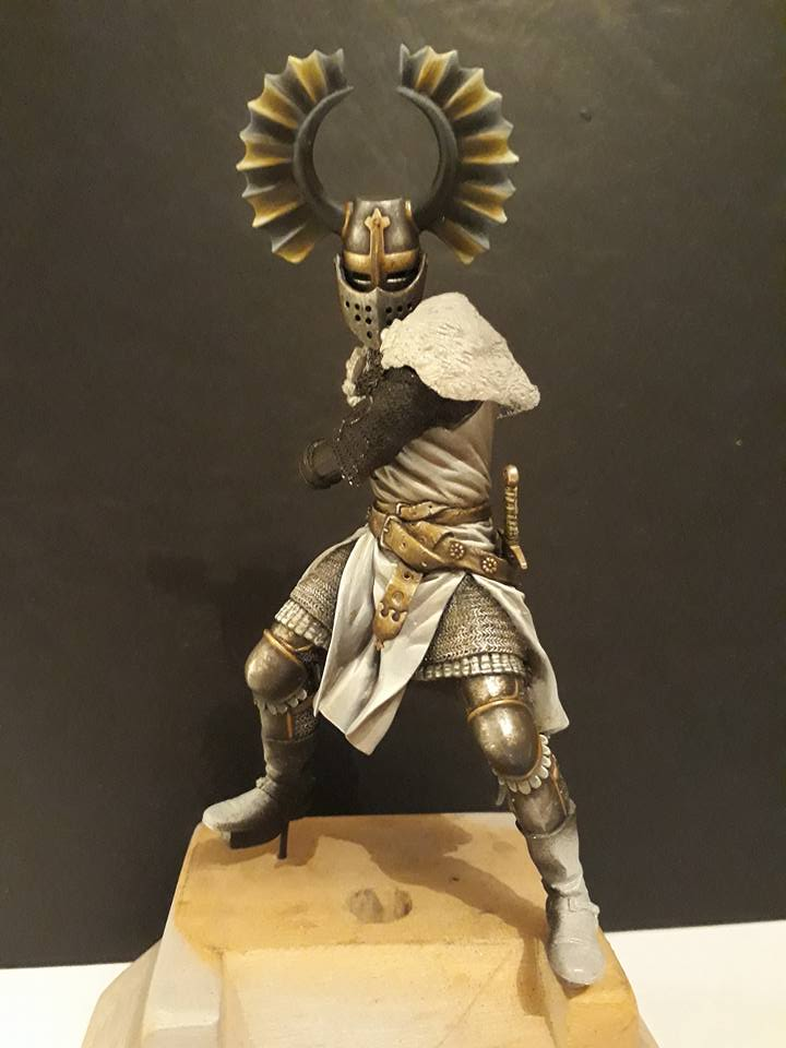 Pegaso Models - Chevalier teutonique 90 mm 17103410