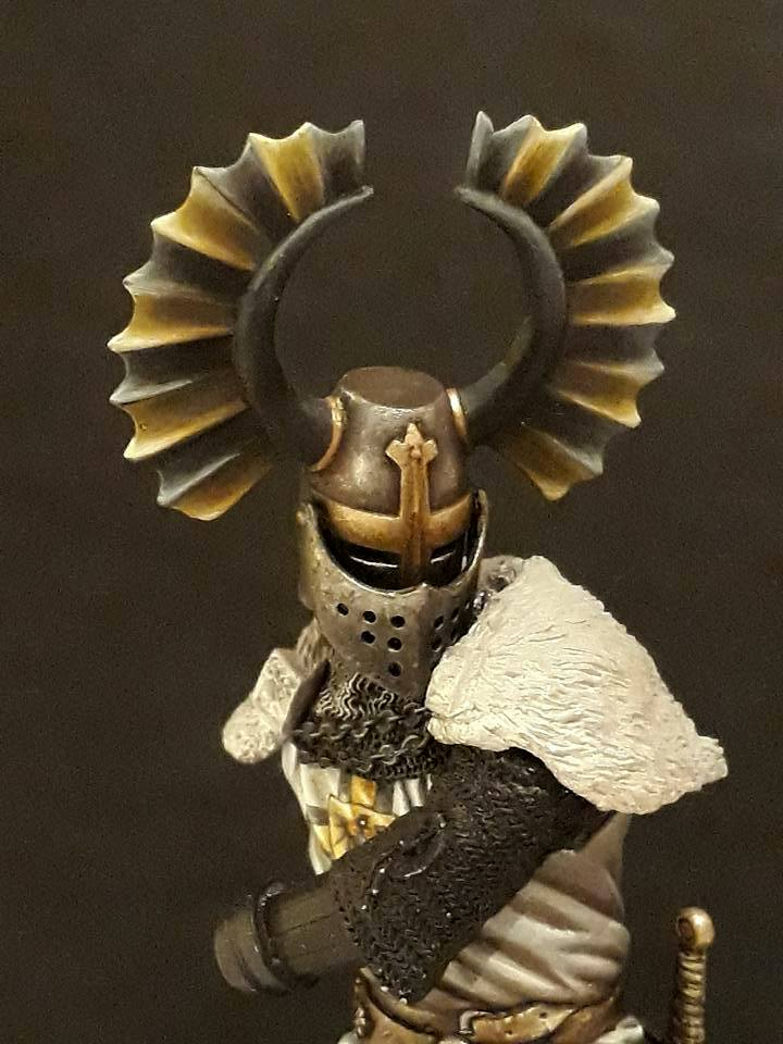 Pegaso Models - Chevalier teutonique 90 mm 17156110