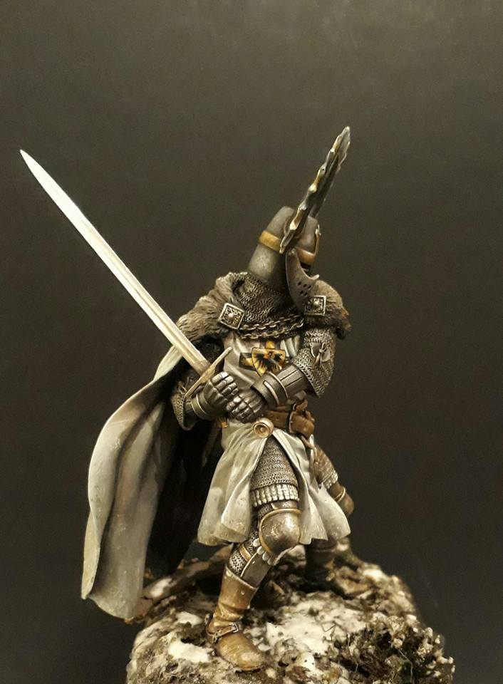 Pegaso Models - Chevalier teutonique 90 mm 17352311