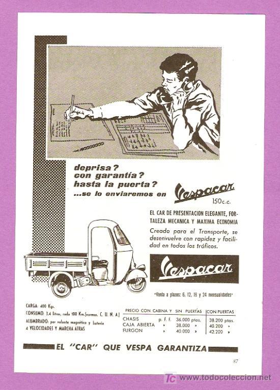PUBLICIDAD VESPACAR 45118010