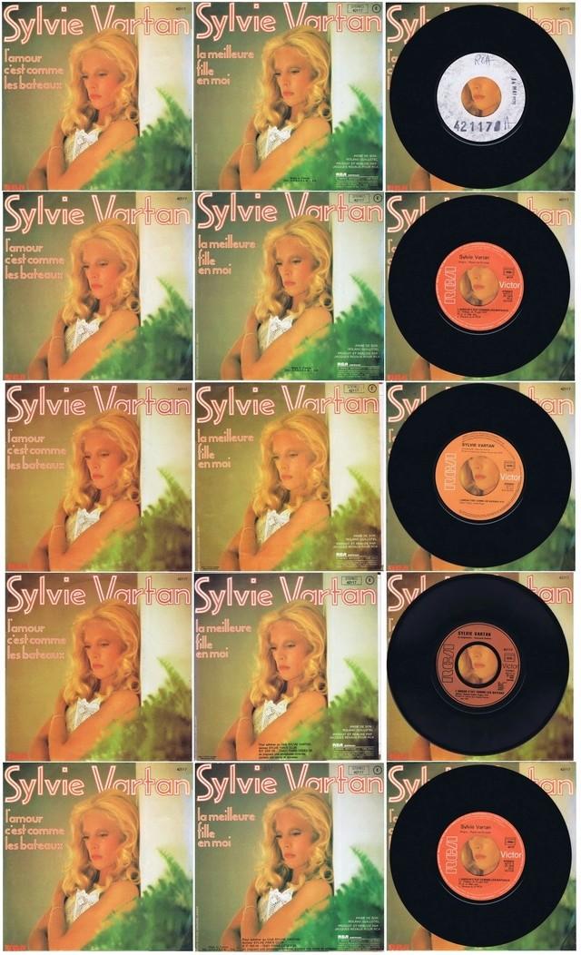 Discographie N° 64 L'AMOUR C'EST COMME LES BATEAUX 64_l_a13