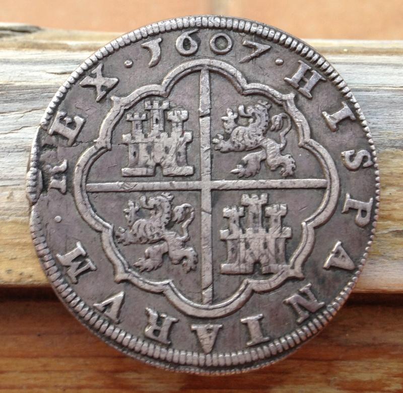 8 reales Felipe III - 1607 - Segovia Img_0711