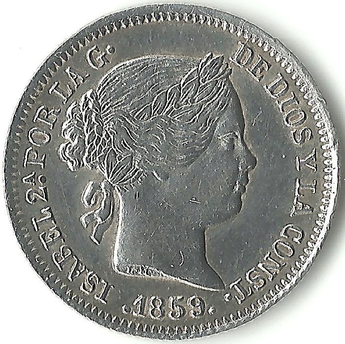 Colección de 1 real - Isabel II 1real110