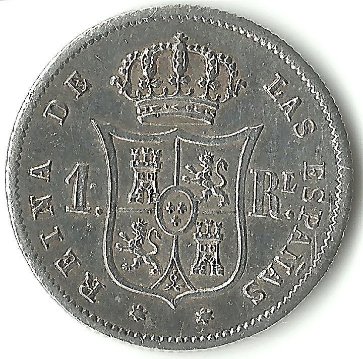 Colección de 1 real - Isabel II 1real111