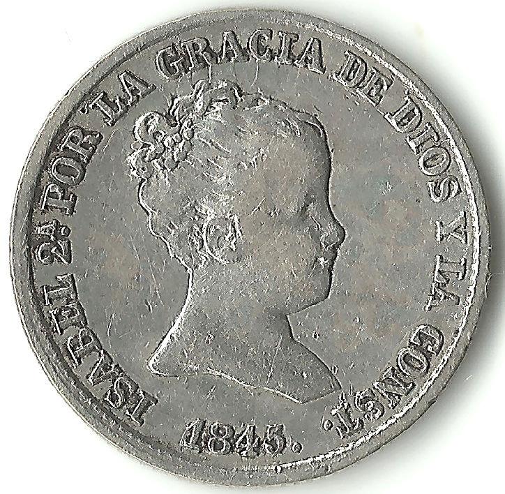 Colección de 1 real - Isabel II 1real112