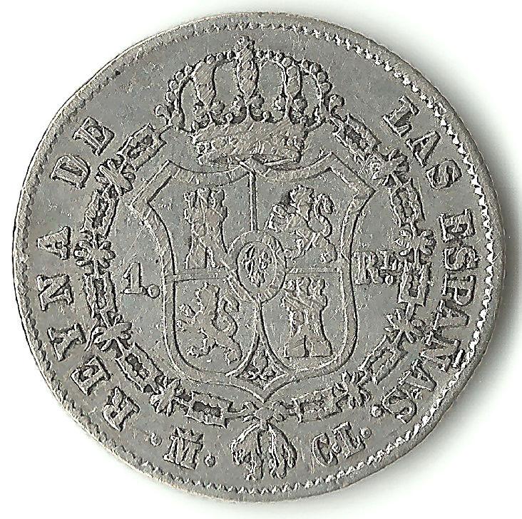 Colección de 1 real - Isabel II 1real113