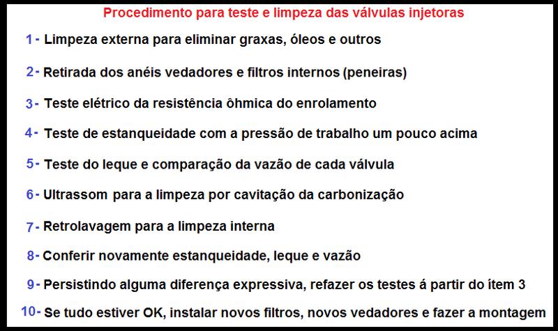 Procedimento Para Teste e Limpeza das Válvulas Injetoras 10_pas10