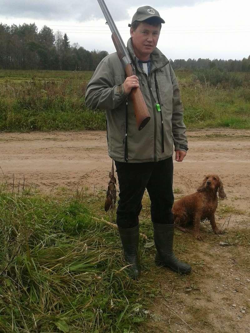 Охота с английским коккер спаниелем 2016-014