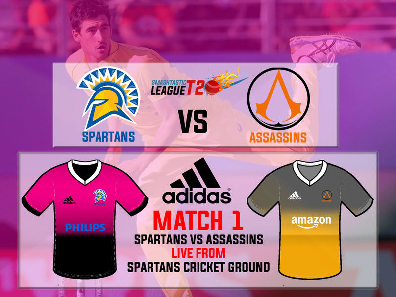 Match 1 - Spartans VS Assassins | LIVE from SCG 111
