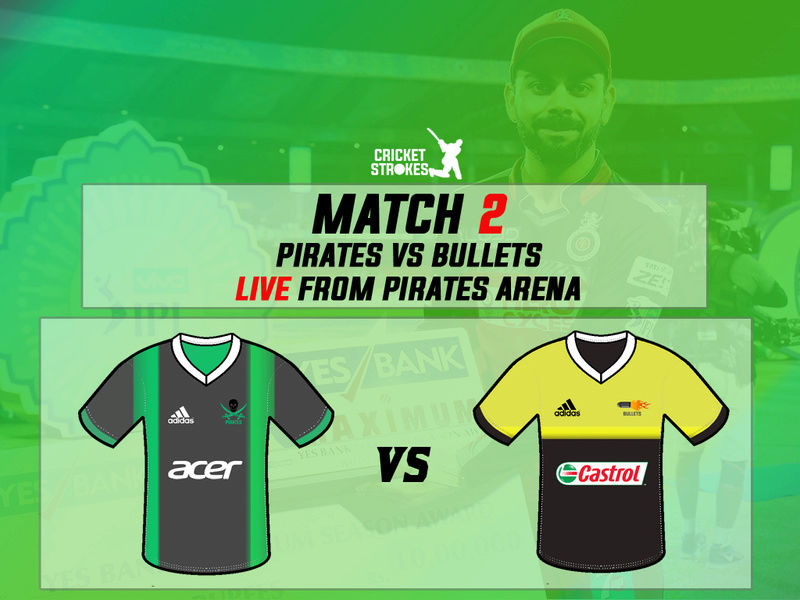 Match 2 - Pirates VS Bullets | LIVE from Pirates Arena 210