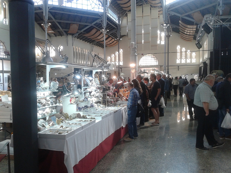 XXI Feria de Minerales y Fósiles de La Unión  20170420