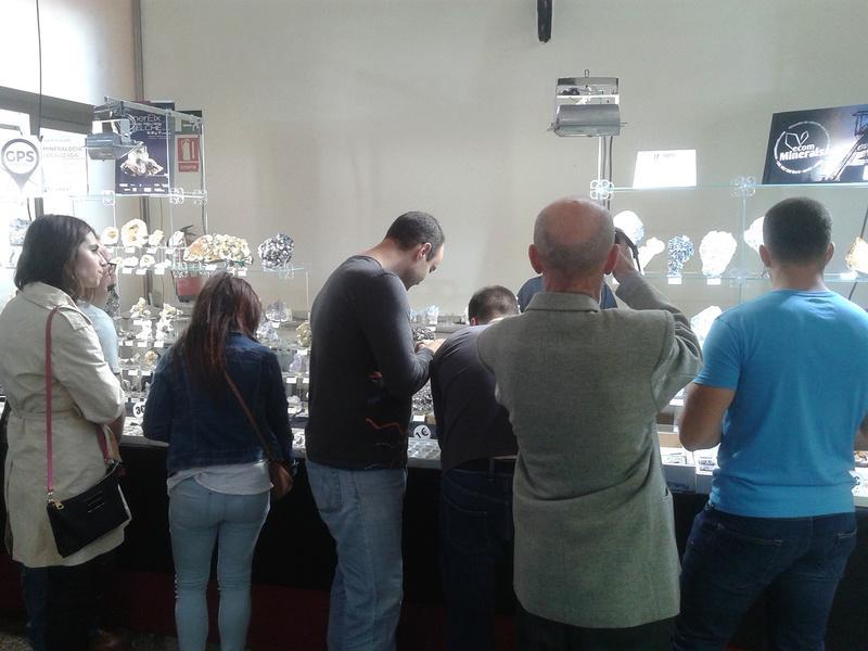 XXI Feria de Minerales y Fósiles de La Unión  20170421