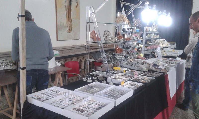 XXI Feria de Minerales y Fósiles de La Unión  Angel010