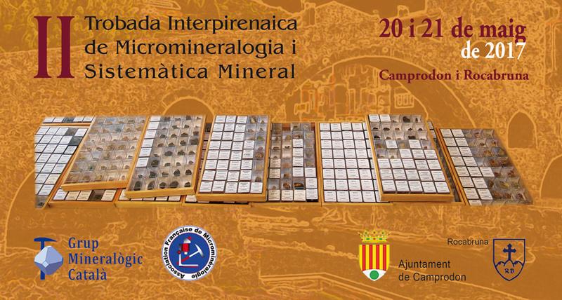 II Encuentro Interpirenaico de Micromineralogia y Sistemática Mineral - Camprodon Campro10