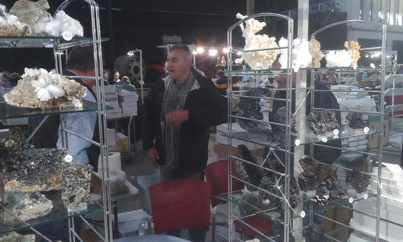 XXI Feria de Minerales y Fósiles de La Unión  Emilio10