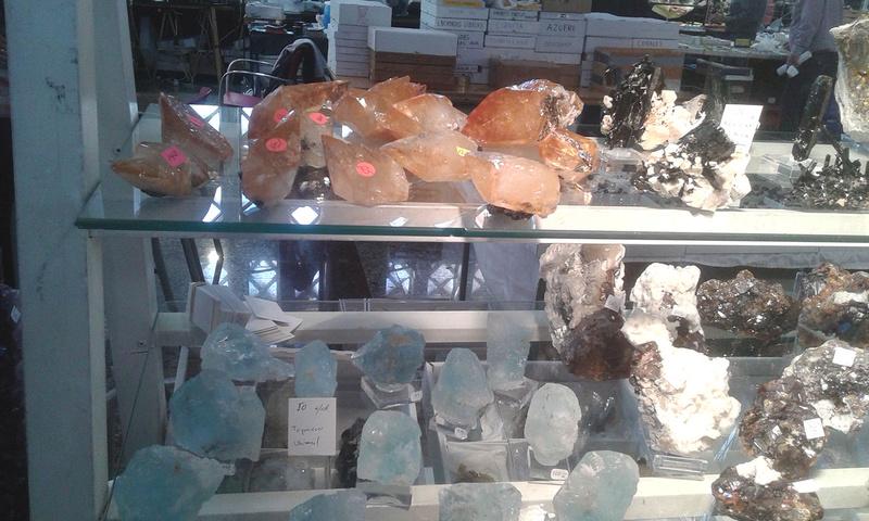 XXI Feria de Minerales y Fósiles de La Unión  Estan010