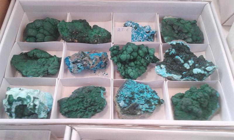 XXI Feria de Minerales y Fósiles de La Unión  Estan011