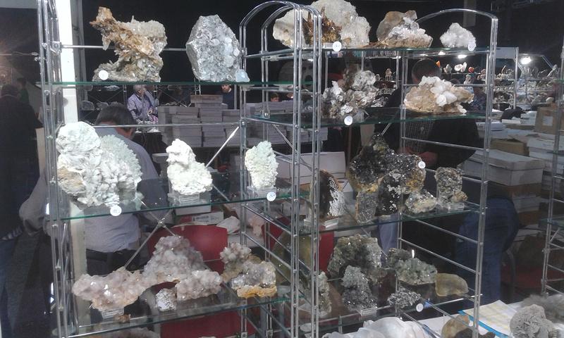 XXI Feria de Minerales y Fósiles de La Unión  Estan013