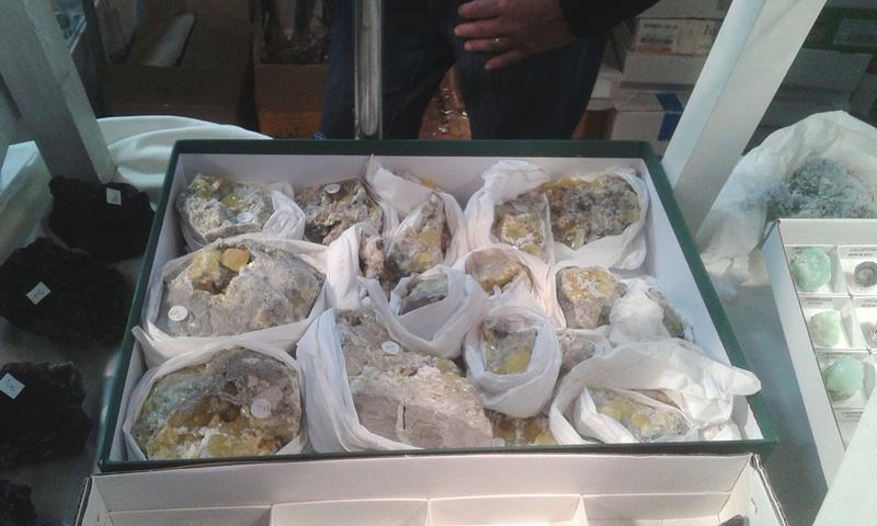 XXI Feria de Minerales y Fósiles de La Unión  Estan014