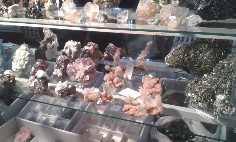 XXI Feria de Minerales y Fósiles de La Unión  Estan015