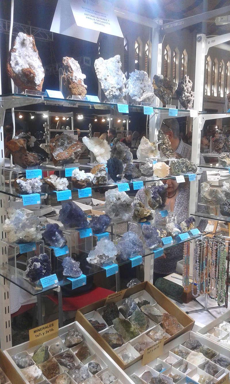 XXI Feria de Minerales y Fósiles de La Unión  Estan016