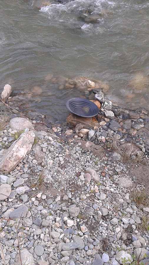 Bateo de oro en el rio Genil, Cenes de la Vega (Granada) Genil010