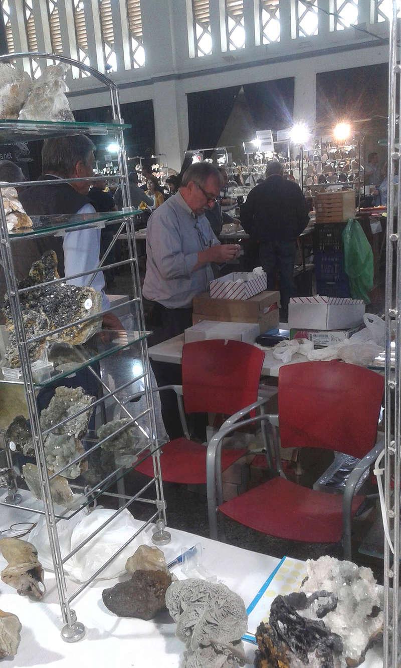 XXI Feria de Minerales y Fósiles de La Unión  Jordi_10